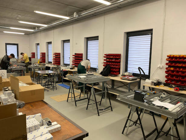 alcon-systems - warsztat - prefabrykacja