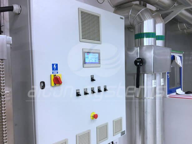 system automatyki centrali wentylacyjnej