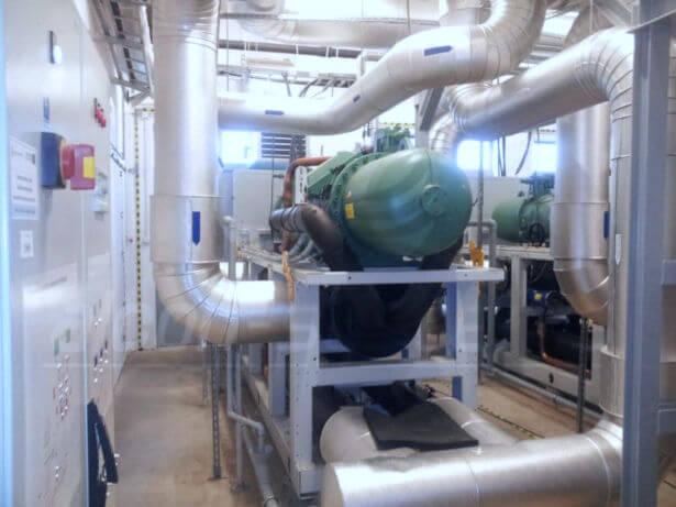 automatyka i bms - maszynownia wody lodowej