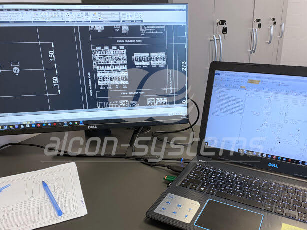 projekt automatyki - schematy